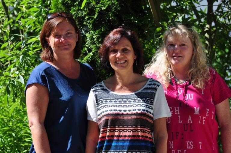 Familienhebammen Ulli Weiß-Lindner, Brigitte Leber und Antje Sand